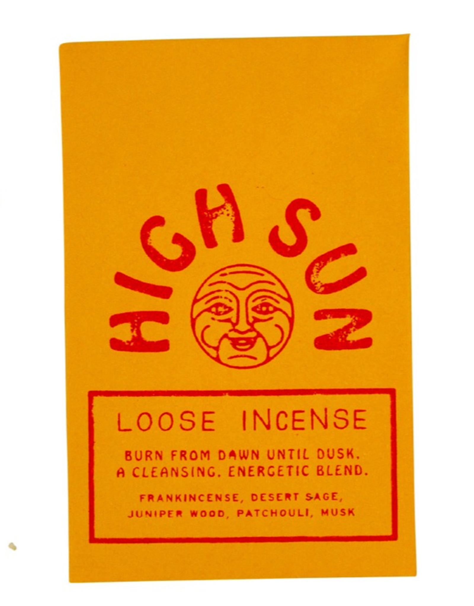 High Sun Low Moon Loose Incense Blend
