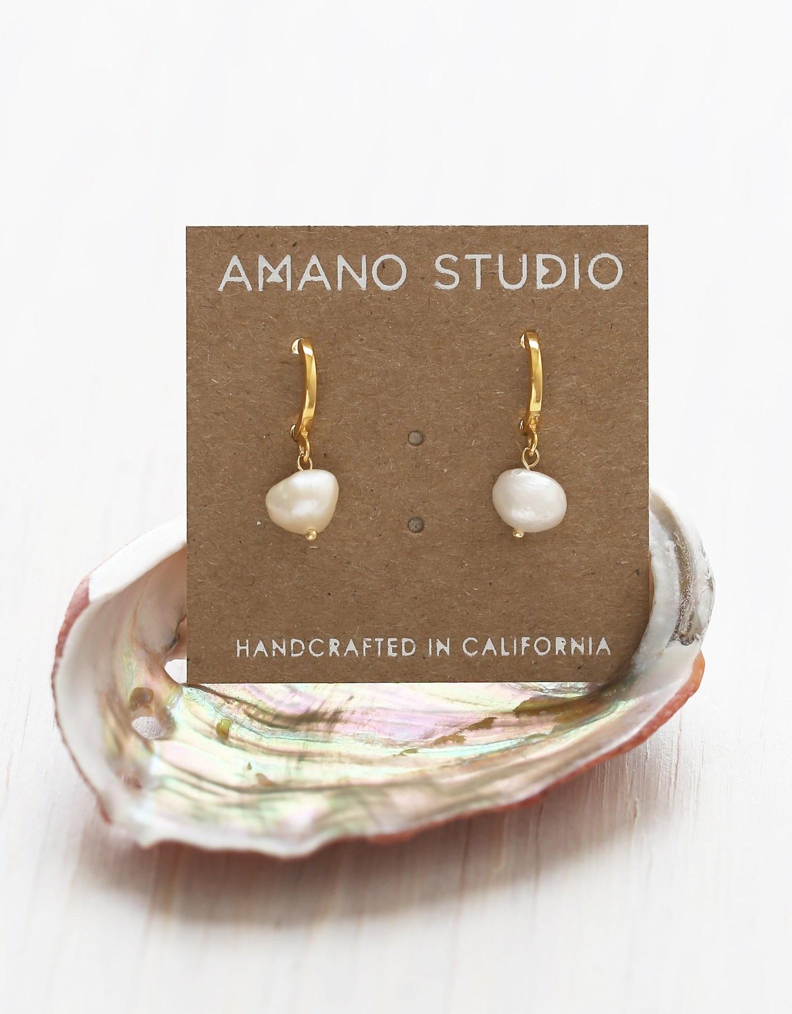 Amano Studio Fresh Water Pearl Huggie
