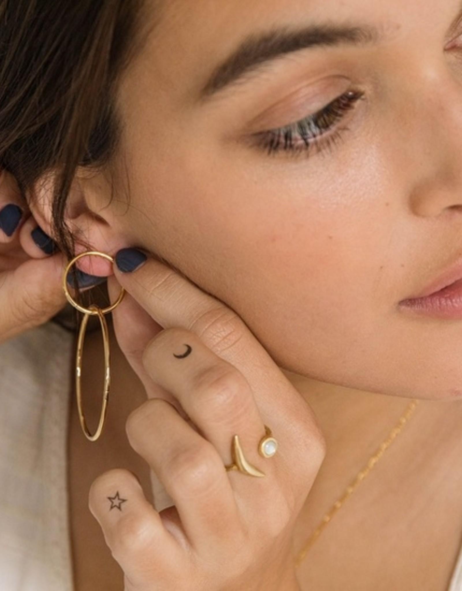 Amano Studio Double Stud Ring Earrings