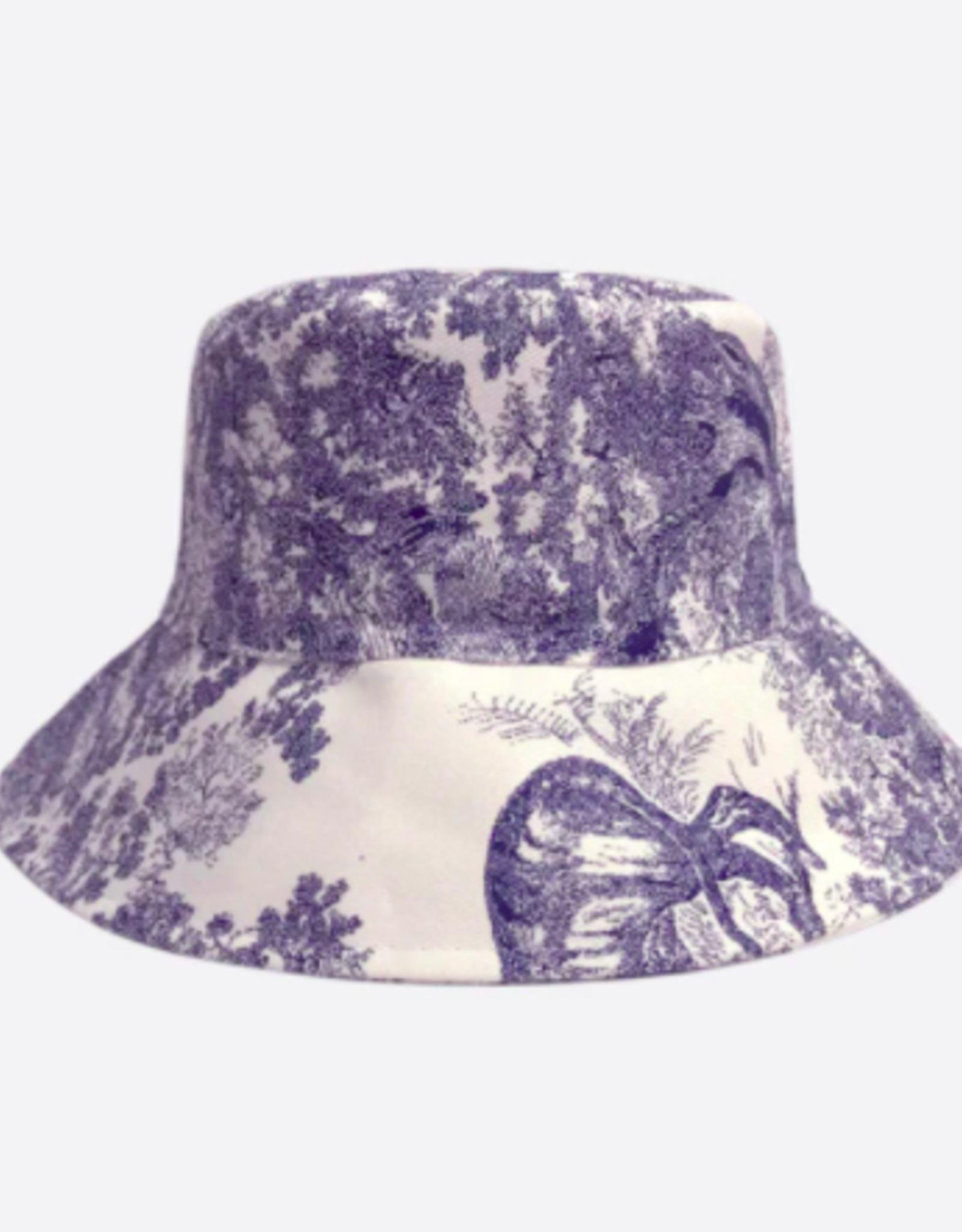 Rainbow Unicorn Birthday Surprise Charlotte Bucket Hat