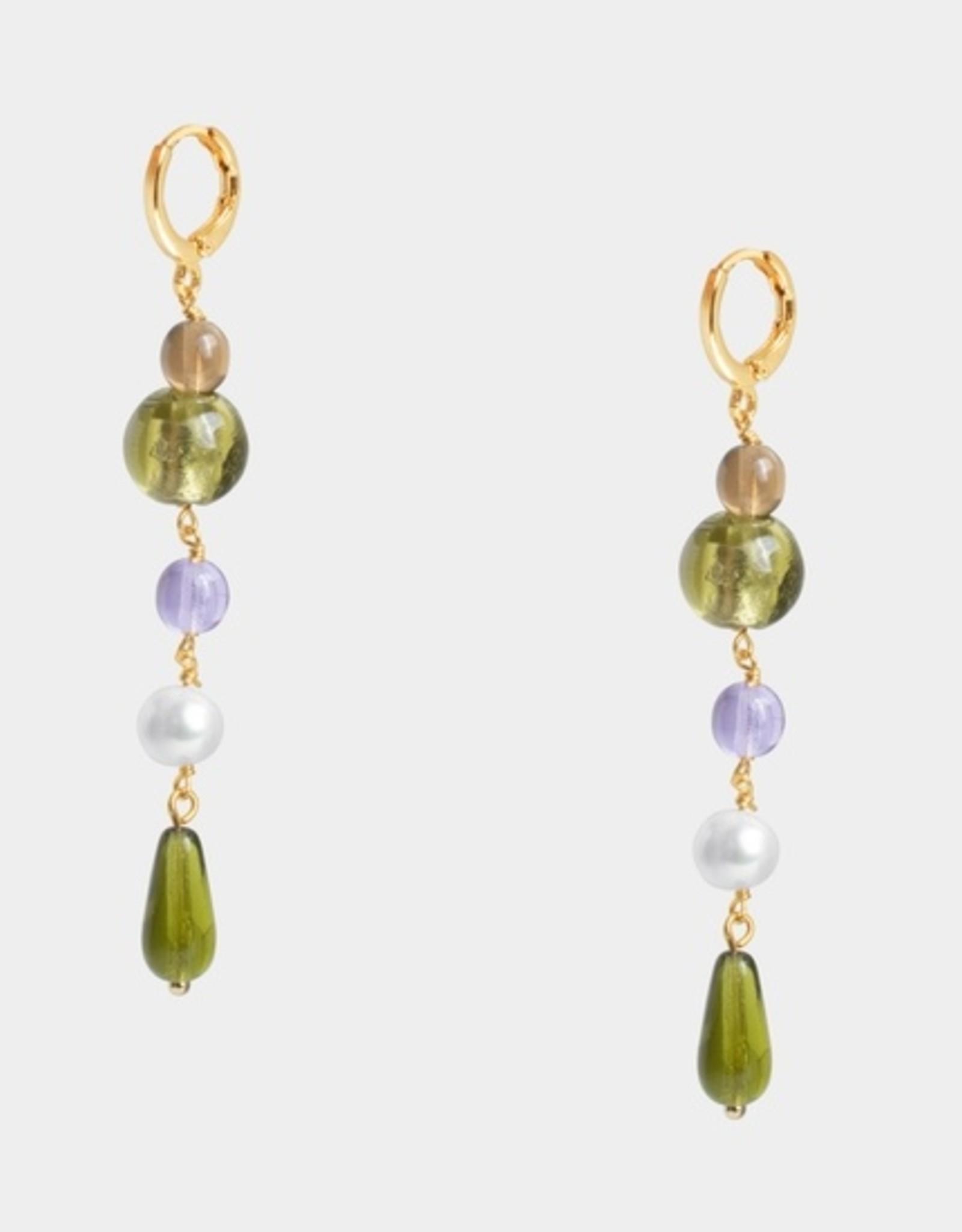 SiiZU SZ2 Gilana Drop Earrings