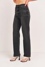 Just Black DP554 High Rise Clean Straight Leg