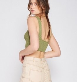Emory Park Sweater Knit Crop