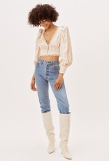 For Love and Lemon CT1764-FA21 Natalie Crop Top