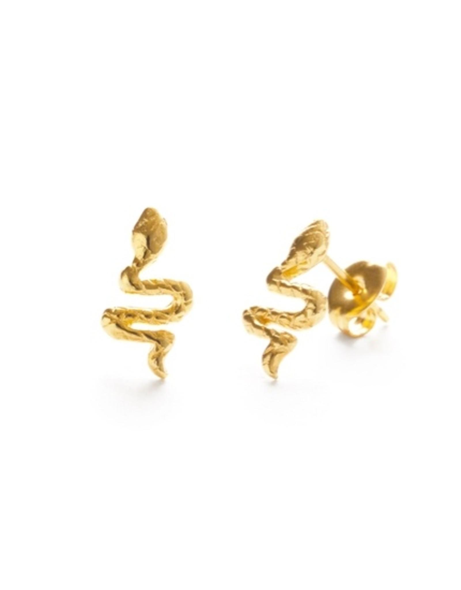 Amano Studio 23BS | Teeny Tiny Serpent Studs
