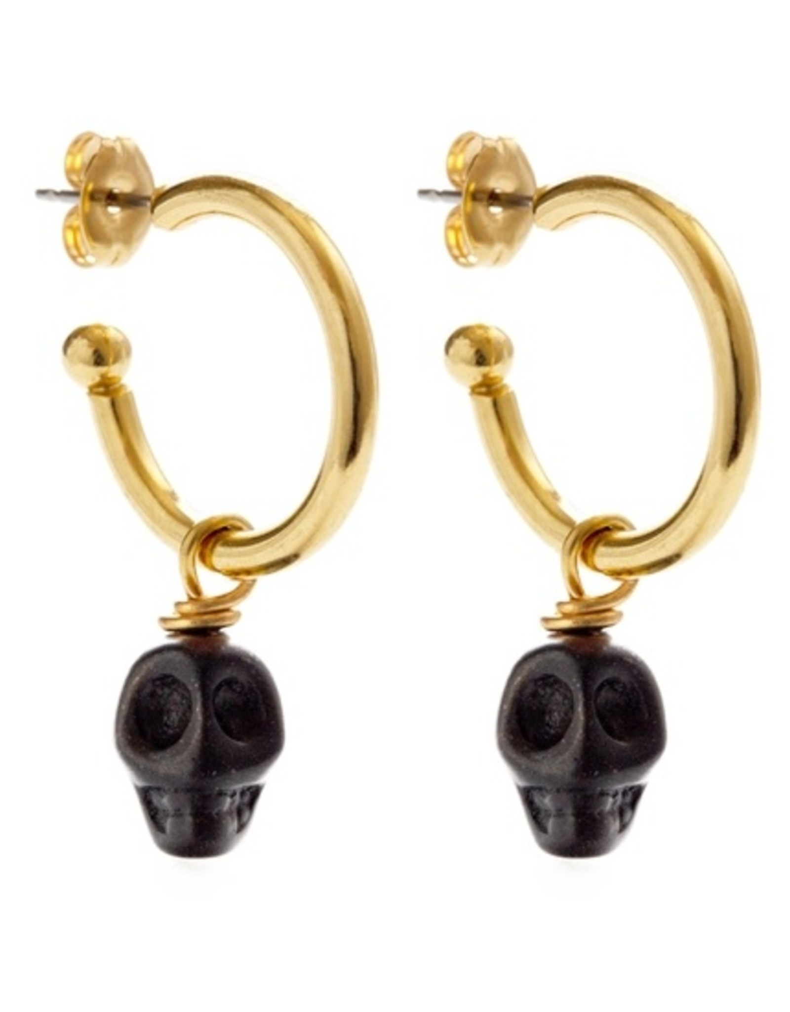 Amano Studio 22MU-B | Muertos Negros Earrings