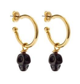 Amano Studio Muertos Negros Earrings