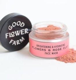 Good Flower Farm Flowers & Rose Clay Botanical Face Mask