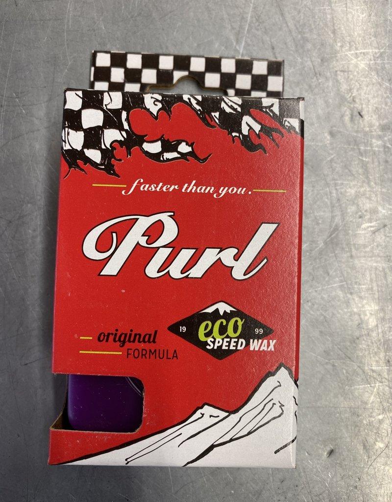 Purl Purple All Temp Eco Speed Wax 65g.