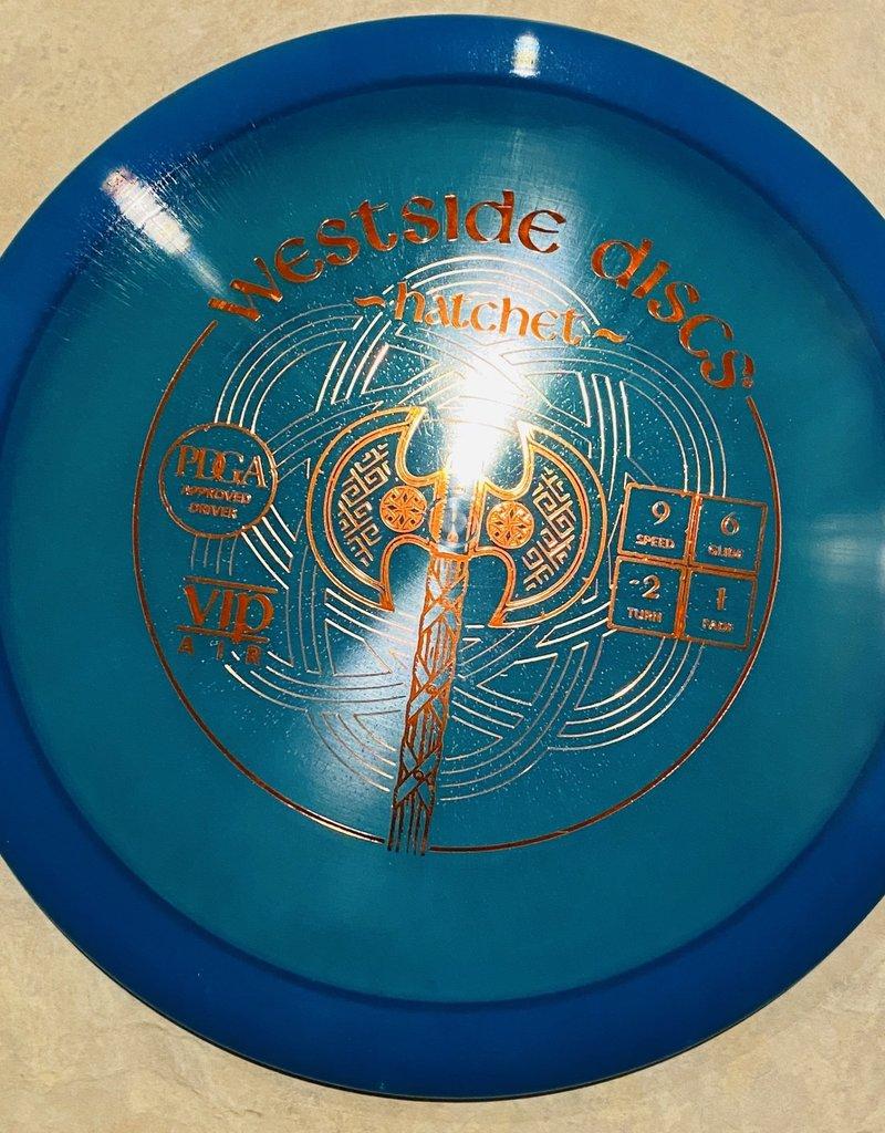Westside Discs Westside Hatchet vip air 154g  blue 9/6/-2/1
