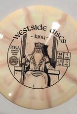 Westside Discs Westside King Tournament Burst 173g Peach starburst14/5/-1.5/3