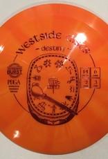 Westside Discs Westside Destiny Tournament Burst 160g 14/6/-2/3