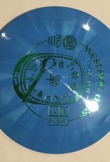 Westside Discs Westside Destiny Tournament Burst blue 172g 14/6/-2/3