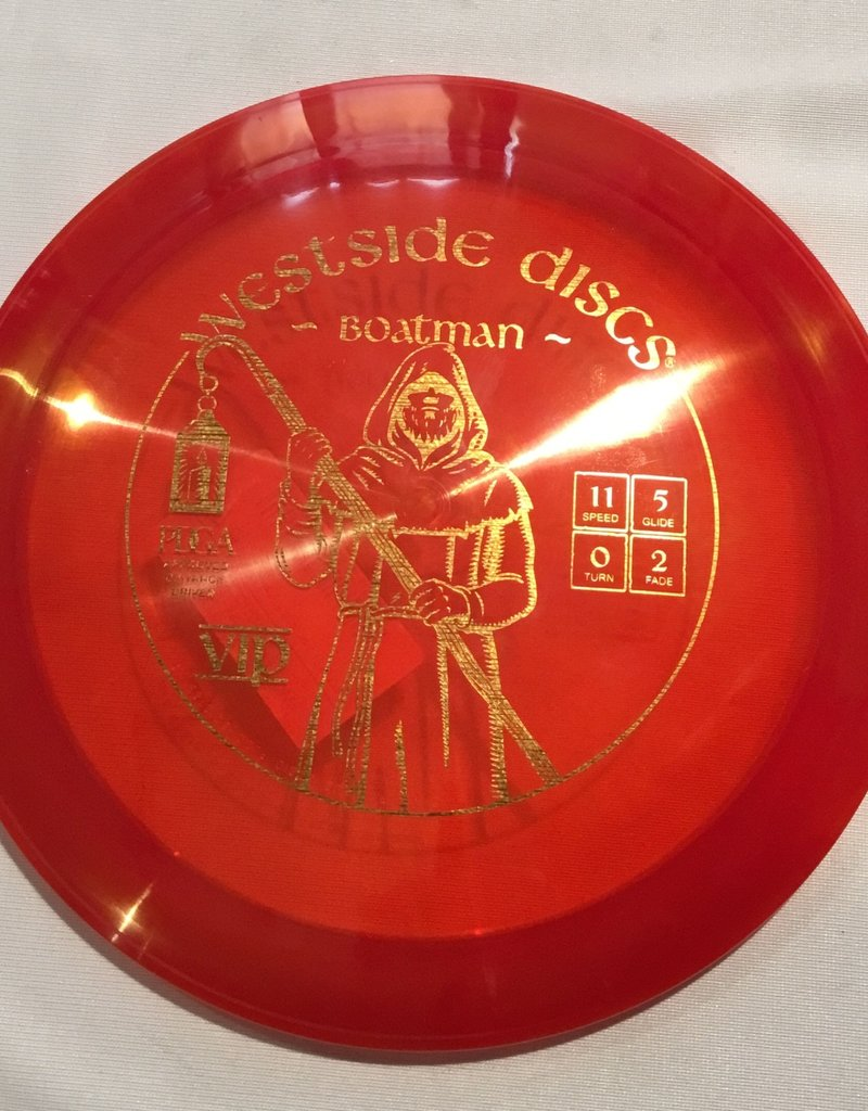 Westside Discs Westside Stag Boatman Vip Red 176g 11/5/0/2