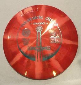 Westside Discs Westside Sword Tournament Burst Dark Pink 168g 12/5/-0.5/2