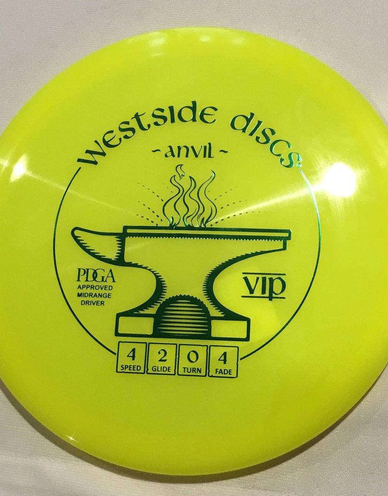 Westside Discs Westside Anvil Vip Yollow 175g 4/2/0/4