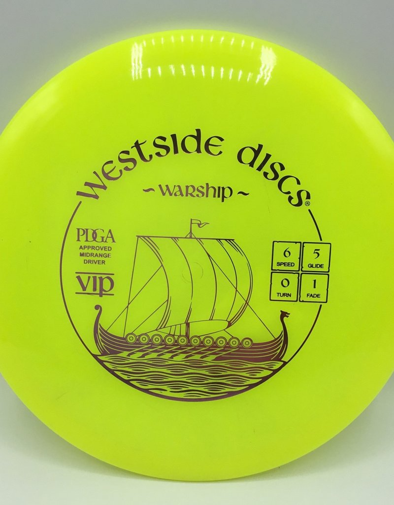 Westside Discs Westside Warship Vip Yellow 178g 6/5/0/1
