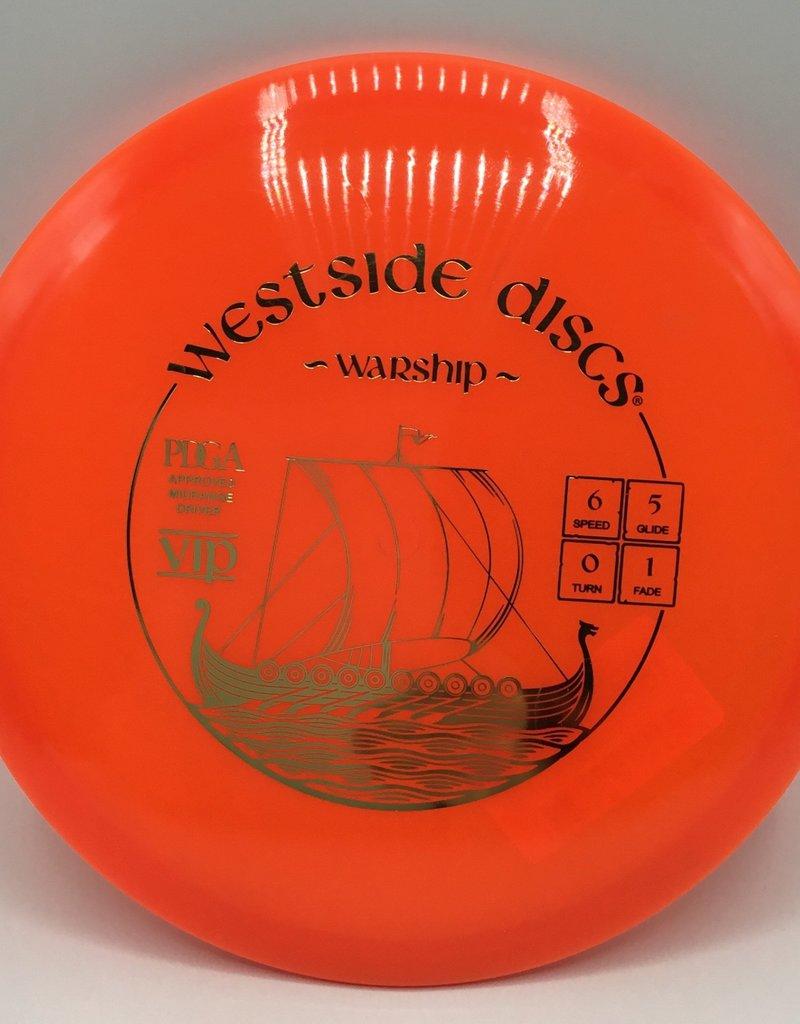 Westside Discs Westside Warship Vip Orange 173g 6/5/0/1