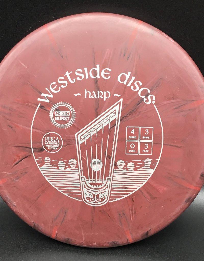 Westside Discs Westside Harp Origio Burst Brown 173g 4/3/0/3