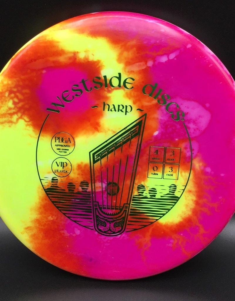 Westside Discs Westside Harp Vip Yellow/Pink 173g 4/3/0/3