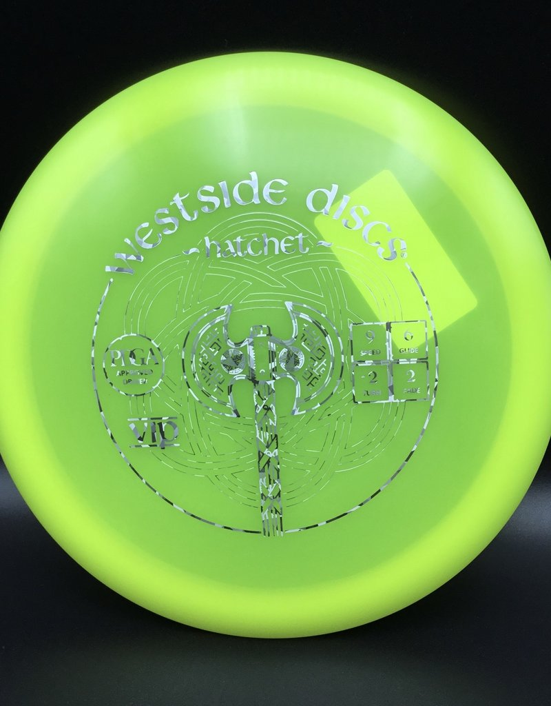 Westside Discs Westside Hatchet Vip Yellow 171g 9/6/-2/2