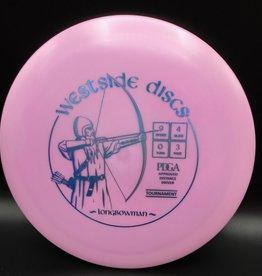 Westside Discs Westside Longbowman Tournament Pink 174g 9/4/0/3
