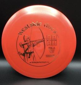 Westside Discs Westside Longbowman Tournament Red 175g 9/4/0/3