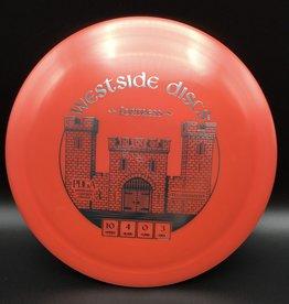 Westside Discs Westside Fortress Tournament Red 173g 10/4/0/3