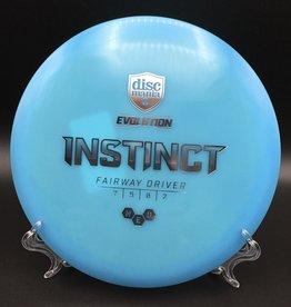 Discmania Disc Mania Instinct Evolution Blue 170g 7/5/0/2