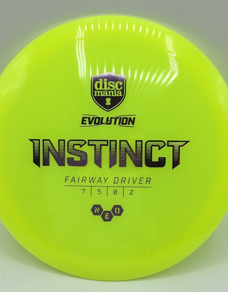 Discmania Disc Mania Instinct Evolution Yellow 174g 7/5/0/2