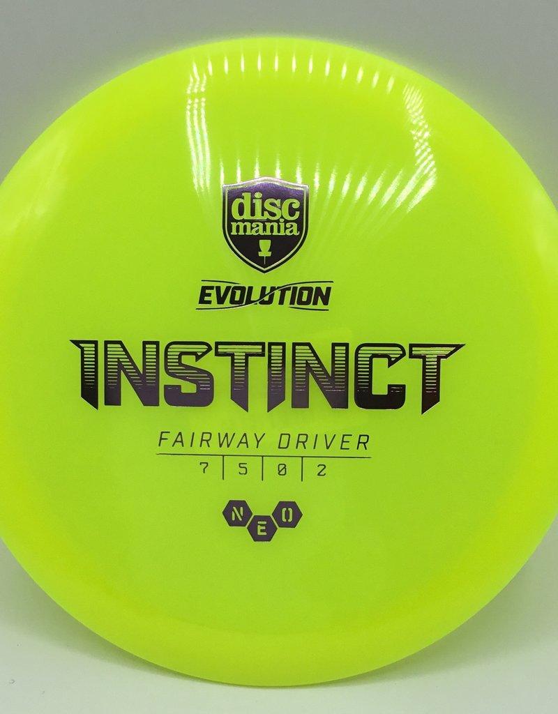 Discmania Disc Mania Instinct Evolution Yellow 171g 7/5/0/2