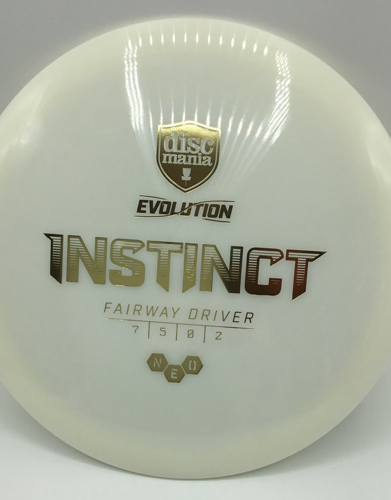 Discmania Disc Mania Instinct Evolution White 174g 7/5/0/2