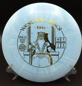 Westside Discs Westside King Tournament Burst 173g Blue starburst 14/5/-1/4