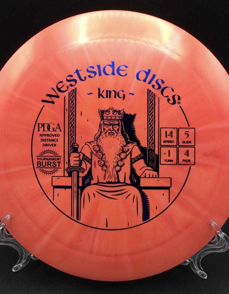 Westside Discs Westside King Tournament Burst 172g Orange starburst 14/5/-1/4