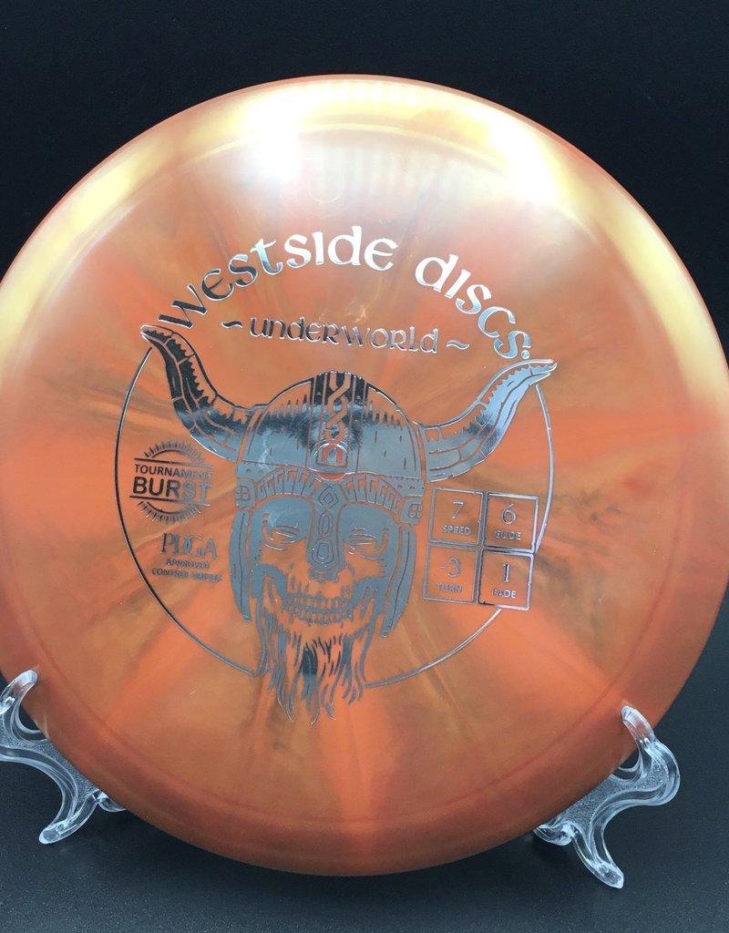 Westside Discs Westside Underworld Tournament Burst Brown/Orange 171g 7/6/-3/1