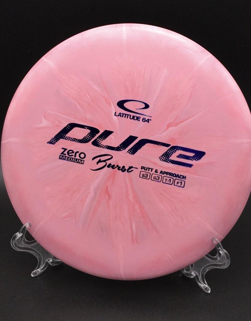 Latitude 64 Pure Zero Medium Burst Pink 174g 3/3/-1/1