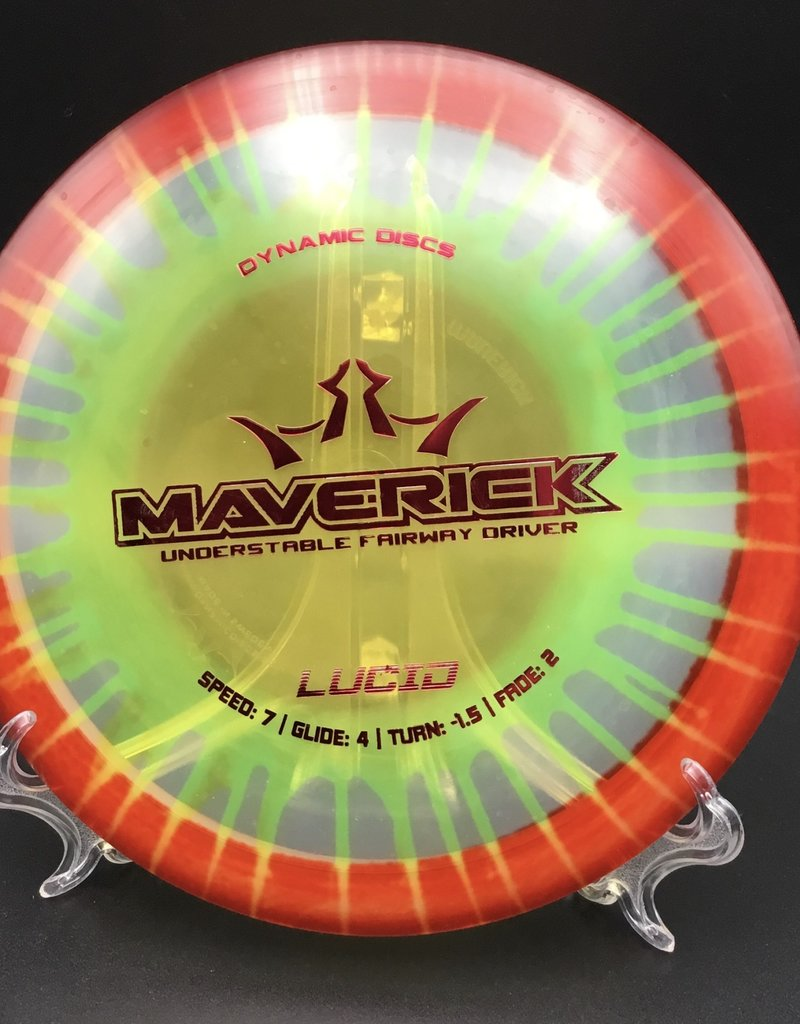 Dynamic Discs Dynamic Maverick Lucid MYDYE 175g 7/4/-1.5/2