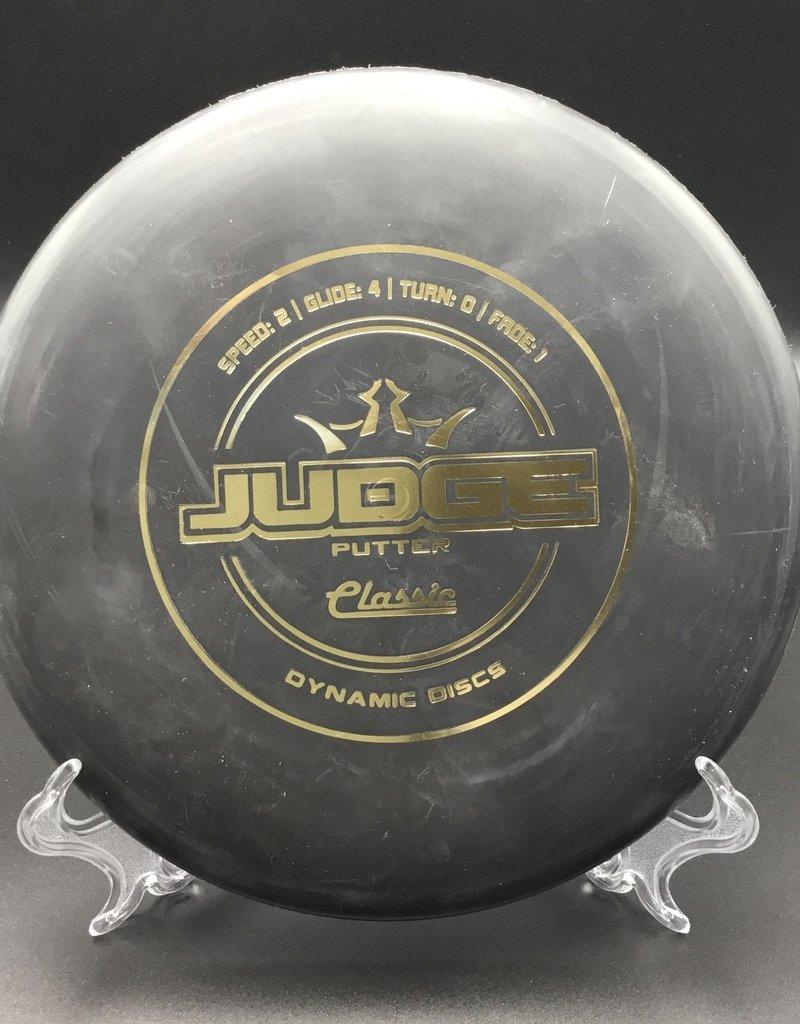 Dynamic Discs Dynamic Judge Classic Black 176g 2/4/0/1