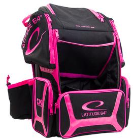 Latitude 64 Luxury E3 black & pink backpack