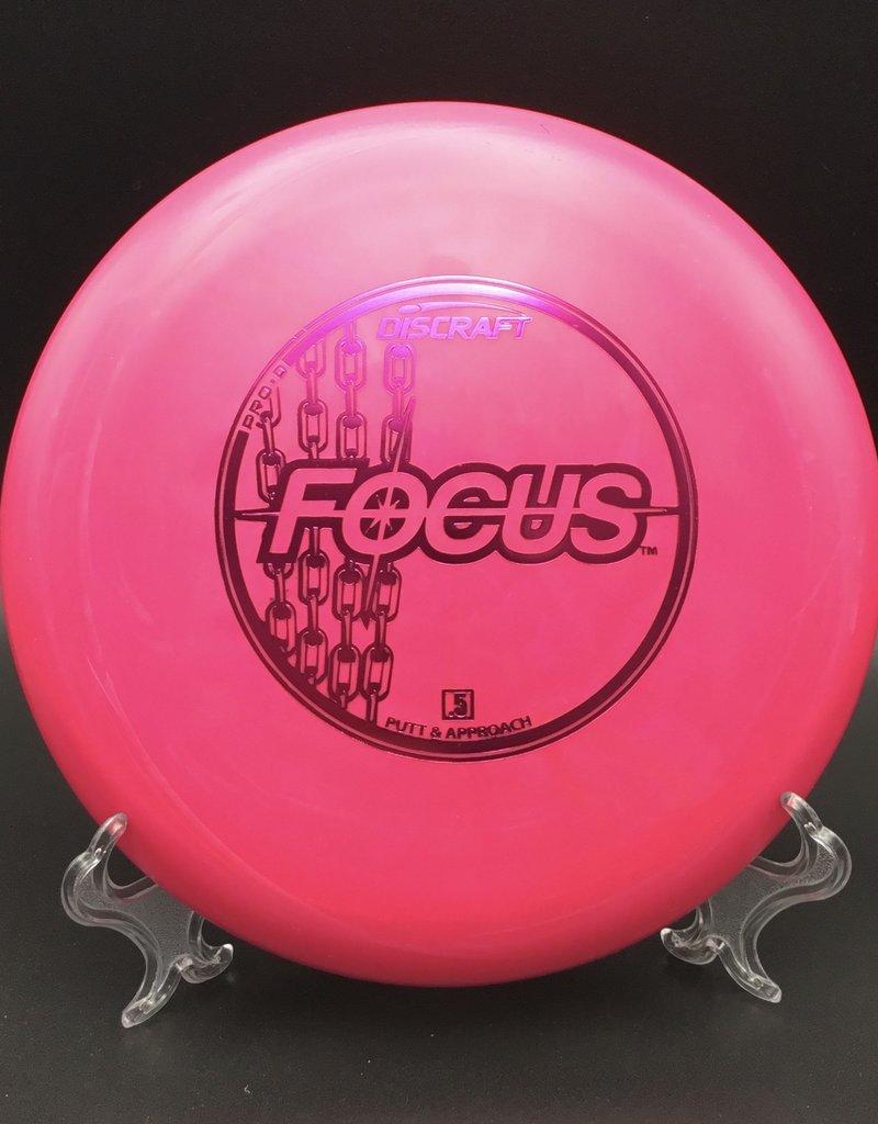Discraft Focus Pro-D Pink 172g 2/3/-1/2