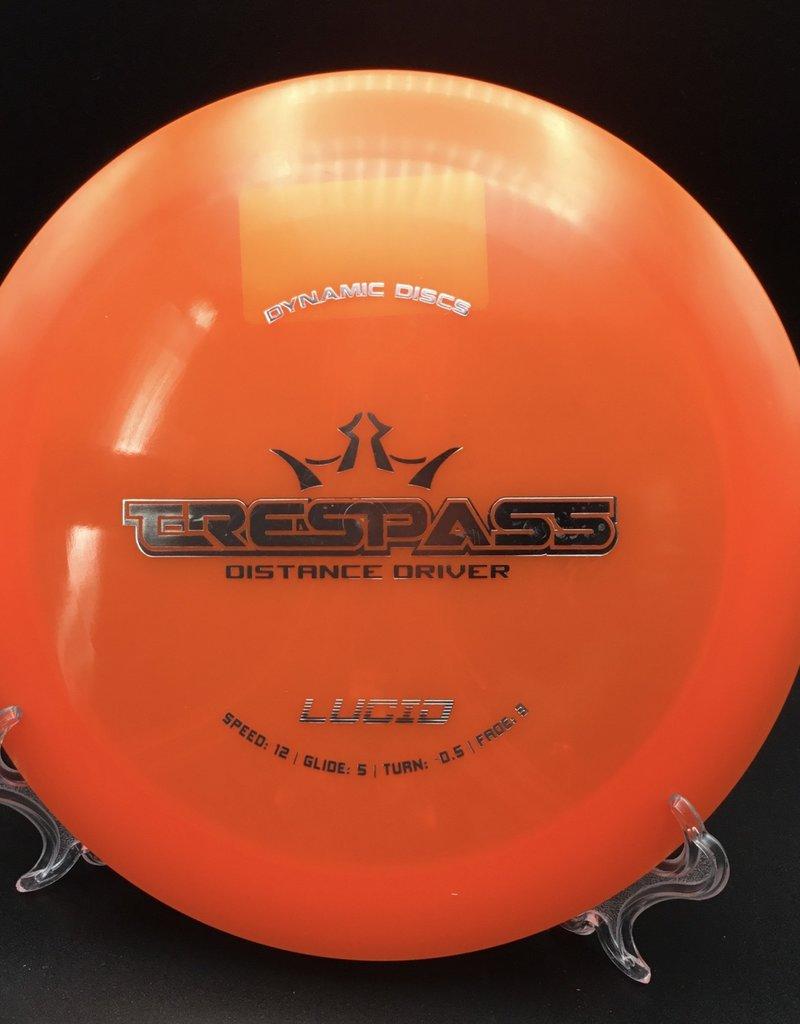 Dynamic Discs Dynamic Disc Trespass Lucid Orange 173g 12/5/-0.5/3