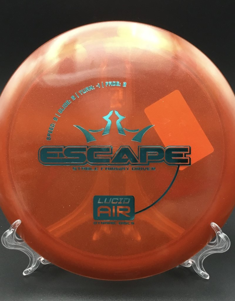 Dynamic Discs Dynamic Disc Escape Lucid Air Red 158g 9/5/-1/2