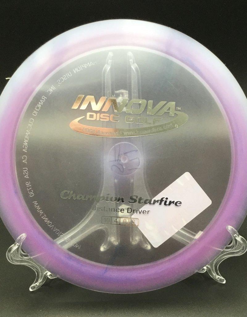 Innova Innova Disc Starfire Champion Transparent Purple 171g 10/4/0/3