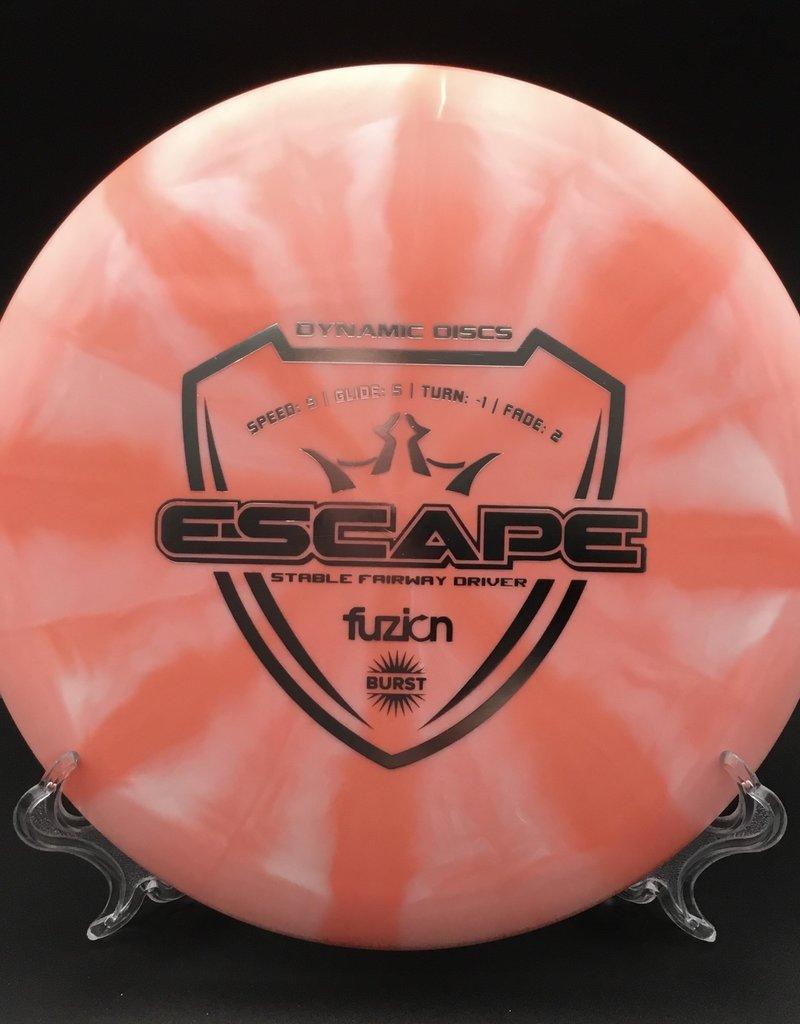 Dynamic Discs Dynamic Discs Escape Fusion Burst Pink 173g 9/5/-1/2