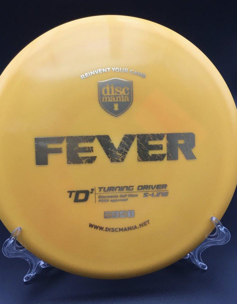Discmania Discmania TD2 S-Line Fever Yellow 171g 10/5/-4/1