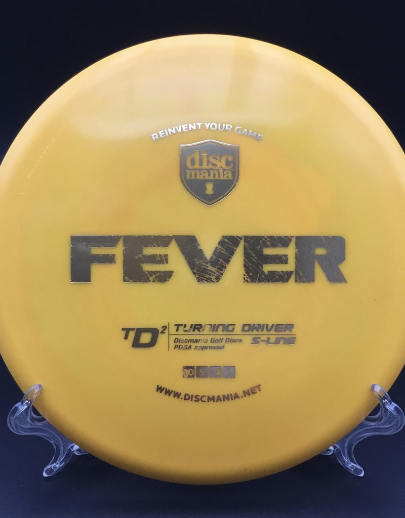 Discmania Discmania TD2 S-Line Fever Yellow 170g 10/5/-4/1