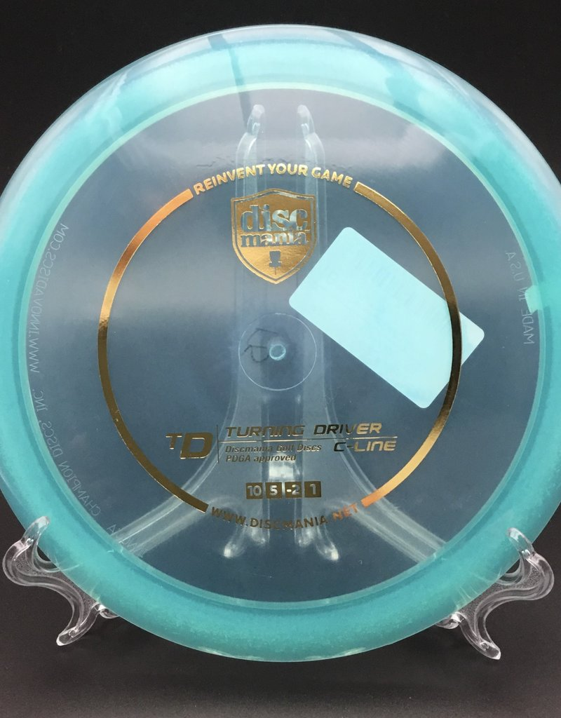 Discmania Discmania TD C-Line Transparent Blue 175g 10/5/-2/1