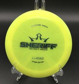 Dynamic Discs Dynamic Discs Sheriff MINI Lucid Yellow