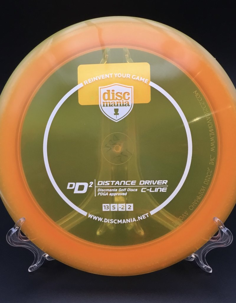 Discmania Discmania DD2 C-Line Transparent Orange 175g 13/5/-2/2