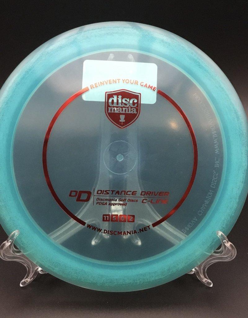 Discmania Discmania DD C-Line Transparent Blue 175g 11/5/0/2